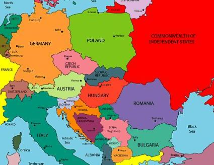 Чехия и страны ближнего зарубежья.