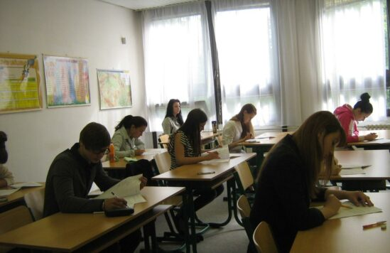 Выпускные экзамены 2012