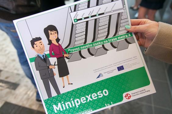 Продление зеленой ветки пражского метро - сувениры / Prodloužení metra A - souveniry