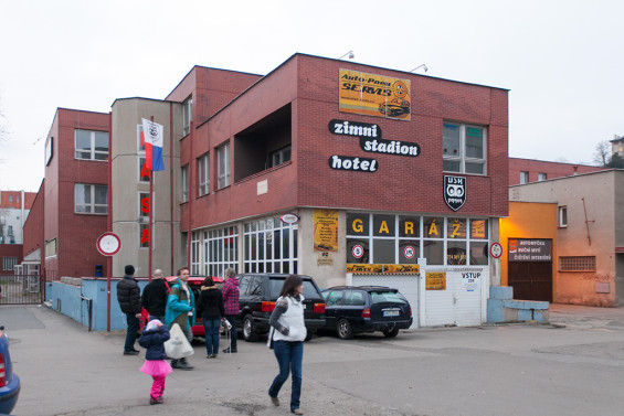 Зимний стадион Hasa в Праге / Zimní stadion Hasa v Praze