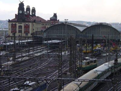 Czech Republic train station Prague, Praha Hlavni Nadrazi dsc03972
