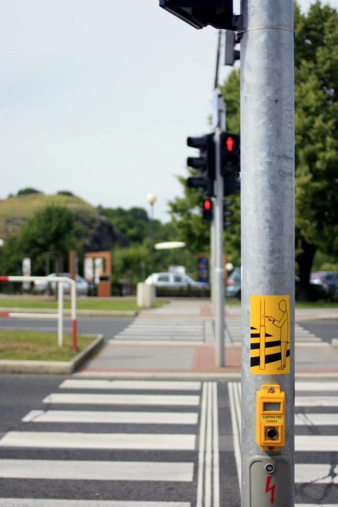 Кнопка для пешеходного перехода