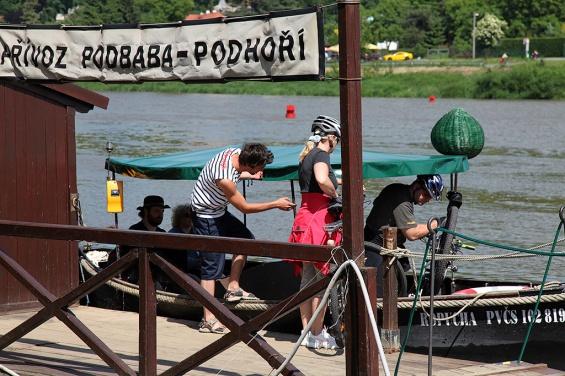 Паромы в Праге / Pražské přívozy