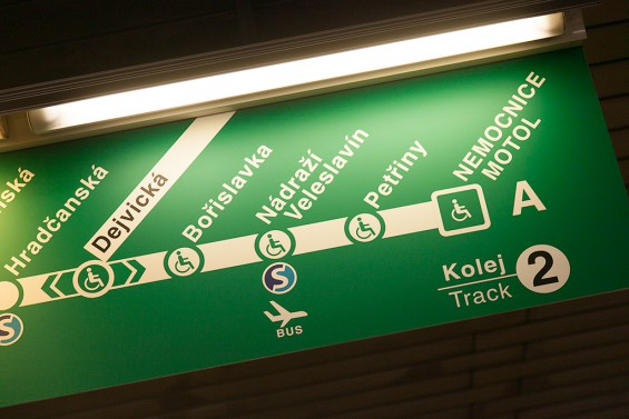 Продолжение зеленой линии пражского метро / Prodloužení metra A